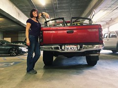 Day 357 (boxbabe86) Tags: truck pose wednesday december noho pickuptruck toyota tacoma timer selftimed northhollywood 2015 day357 10secondtimer