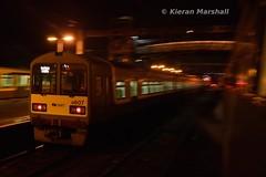 8607 arrives at Bray, 12/12/15 (hurricanemk1c) Tags: irish train rail railway trains railways dart bray irishrail 2015 iarnród 8607 éireann iarnródéireann class8500 tokyucarcorp 1755braymalahide