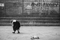 @ Varanasi, UP (Kals Pics) Tags: life people blackandwhite dog man money monochrome wall blackwhite pov steps perspective posters varanasi colorless holyland ghats roi kasi writings cwc sati uttarpradesh banares lordshiva manikarnika annapoorani rootsofindia kalspics chennaiweelendclickers
