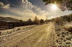 Upper western road in Wysowa (Zyla, K. alone) Tags: winter nature landscape poland polska zima beskidniski wysowa pentaxsmc thebp inexplore pentaxlimited justpentax beskyds pentaxart pentaxda15mmlimited pentaxk30