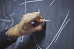study (pucciarellic) Tags: civitavecchia italy italia canon eos 600d 50mm hand mano gesso matematica math lavagna chalk blackboard uni università university