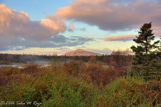 Sunset Mountain Evening