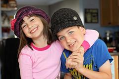 Hats (friesen4) Tags: crochet hats kids