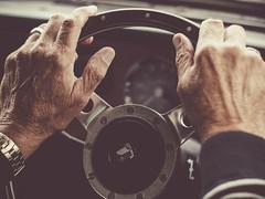 Triumph Herald (i-r-paulus) Tags: triumph triumphherald steeringwheel classiccar vintagecar triumphherald1360 vintage car vintagelens driving olympus zuiko