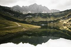 Traualpsee (marinaweishaupt) Tags: austria mountain mountains alps landscape landscapes reflection water lake tannheim tannheimertal sterreich traualpsee tirol tyrol