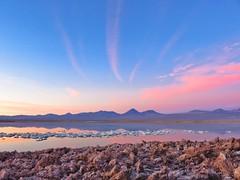 A beautiful sunset in Atacama. (javierchb) Tags: chile chiletravel visitchile atacamadesert desert travel trip backpacker traveller landscape nature adventure canon outdoor sky sanpedrodeatacama
