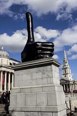 Really Good by David Shrigley, Trafalgar Square, London (IFM Photographic) Tags: img2772a canon 600d ef2470mmf28lusm ef 2470mm f28l usm lseries london westminster cityofwestminster city fourthplinth davidshrigley trafalgarsquare art