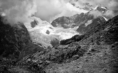 The Andes (Possum Inc.) Tags: mountains peru andes bw landscape