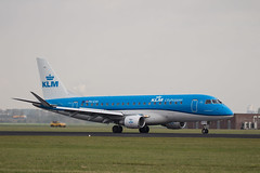 Amsterdam Schiphol Airport - 27-10-2016 (Iemand91) Tags: klm royal dutch airlines embraer erj175std e175 phexh kl930 inverness runway 18r polderbaan inv exh564 amsterdam schiphol airport eham ams spotting