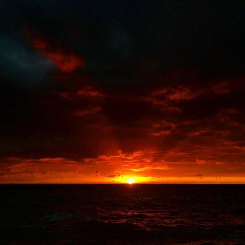 Добро утро в четверг, который пятница👻 #sunrise #crimea #blacksea #алушта #gm