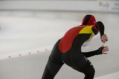 A37W0393 (rieshug 1) Tags: speedskating schaatsen eisschnelllauf skating nkjunioren knsb nkjuniorenallroundafstanden afstanden allround 50010001500massstart demeent alkmaar sportcomplexdemeent juniorenb ladies dames 3000m