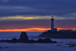 Last Light over Pigeon Point