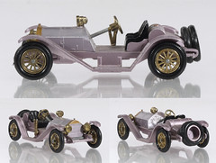 MBY-07-Mercer-Lilac (adrianz toyz) Tags: matchbox yesteryear diecast toy model car y7 mercer raceabout type 35j 1913 146 scale