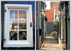 Le village de Marken, Waterland, Nederland (claude lina) Tags: claudelina nederland netherlands paysbas hollande architecture marken waterland village maisons houses