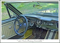 1965 Ford Mustang Convertible (sjb4photos) Tags: 2016motorextravaganza ford 1965mustang steeringwheel