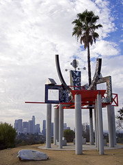 Peter Shire at Angel's Point (█ Slices of Light █▀ ▀ ▀) Tags: frank glass grace e simons memorial peter shire sculpture industrial art angels point elysian park los angeles california 加州 加利福尼亞 usa america 美国 estados unidos olympus ep5