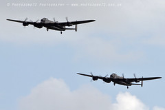 3654 2 Lancaster (photozone72) Tags: lancaster avro 2lancsuk cwhm bbmf rafbbmf portrush airshow warbirds wwii bomber aviation airshows aircraft props canon canon100400mmf4556l 7d