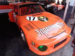 Porsche 935 (911gt2rs) Tags: event meeting show 911 gmodell turbo 93577 slantnose flachbau motorsport racing rennsport jgermeister orange spoiler boxer