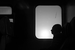 _DSC5956 (BKscape) Tags: blackwhite dawn sunrise train vonat