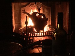 No escape (The Big Jiggety) Tags: fire fireplace chemine chimenea feu feuer fuego fuoco cozy intimate mysterious intime mystrieux intimo bottle wine bouteille vin botella vino botiglia flasche wein