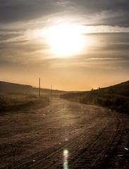 Bright Road (Lucas A dos Santos) Tags: ifttt 500px sun sunset clouds beautiful travel beauty farm grass green road field yellow blue light