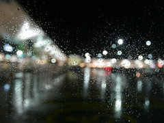 Shopping in the rain 298/366 (dawn.v) Tags: castlepoint shoppingcentre wetweather bokeh bournemouth dorset uk england october 2016 2016yip 366daysin2016 reflections lumixlx100 window afterdark mall