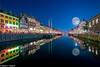 Nyhavn (Nedko Nedkov) Tags: 2016 copenhagen nedkonedkov nyhaven bluehour city colorfulhouses night nightphotography reflection