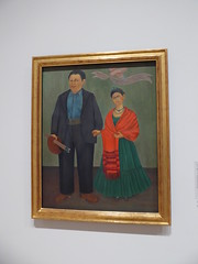 Frida Kahlo - Frieda & Diego Rivera (c_nilsen) Tags: fridakahlo diegorivera sanfrancisco california digital digitalphoto sanfranciscomuseumofmodernart museum art painting