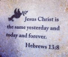 Bible Verse on Stone (booboo_babies) Tags: stone bible verse christian christ religion religious jesuschrist
