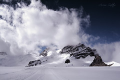 Jungfraujoch, Switzerland (Arisu Saktos) Tags: jungfraujoch topofeurope switzerland mountains snow clouds alps swissalps hiking