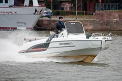 Beneteau Flyer 6.6 Sun Deck, River Main, Frankfurt am Main, Germany (rmk2112rmk) Tags: frankfurt boat rivermain frankfurtammain germany beneteau flyer 66 sun deck beneteauflyer66sundeck