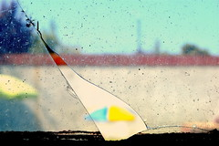 A broken sunshade (danigutib) Tags: guti world photography nikon df nikkor 24mm 58mm candid going collecting decisive moment creative flickr flickriver explore best camera prime lens left eyed scene fotografia coleccin camara lente dslr reflex hobby shot mundo bonito lovely clean limpio focus enfoque dof creativo creation creacion manual umbrella window broken quebrado parasol ventana vidrio glass sunshade quitasol summer verano colors colores outdoor gate puerta fracture fractura quiebre break abstract