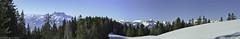 Panorama avec vue ! Au fond  gauche, les Dents du Midi (TICHAT10) Tags: dentsdumidi leysin neigeetglace suisse panorama lalcherette coldesmosses coth alittlebeauty