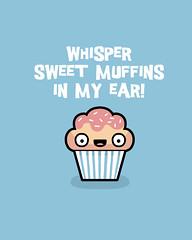 Sweet muffins (randyotter) Tags: art design illustration cool fun drawing digital randyotter clever puns cute colour