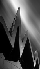 An Ode to Zaha (Andrew Paul Watson) Tags: zaha hadid zahahadid glasgow riveride museum scotland black blackandwhite white light shadow fujifilm xt1 16 stop longexposure long exposure architecture art fineart fine