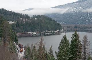 CP 8868, Moyie Lake BC