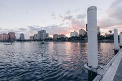 (zumponer) Tags: urban skyline city water palmbeach florida sunset 17mm fullframe canon canon5dmarkii dslr landscape