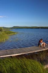 IMG_8004-1 (Andre56154) Tags: schweden sweden sverige steg lake ufer wasser water himmel sky