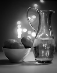 Bowl & Pitcher-1 (Jeremie Doucette) Tags: stilllife bowl pitcher blackwhite bw