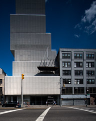 Bowery (63) 235 (shooting all the buildings in Manhattan) Tags: bowery newyorkcity newyork 2016 architecture june manhattan ny nyc us elevation sanaa sejima newmuseum