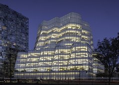 IAC Building - New York (on the water photography) Tags: gehry new york iac building architecture