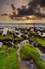 Let's dance under the sun (hendri.arba) Tags: beach surf sunset sun bali echo canggu leegnd filter gnd