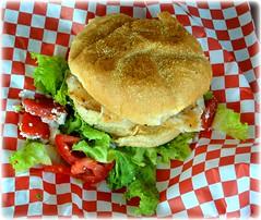 Tarpon Springs, Florida - Sponge Docks Seafood Festival (lagergrenjan) Tags: tarpon springs florida sponge docks seafood festival grouper sandwich