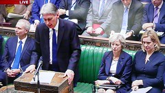 2016 1123 007 (PLX100) Philip Hammond, Theresa May, Amber Rudd; Autumn Statement (BBC2) (Lucy Melford) Tags: panasoniclx100 parliament houseofcommons autumnstatement chancellor