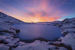 Amanecer gélido (Luis R.C.) Tags: peñalara amanecer paisajes nikon d610