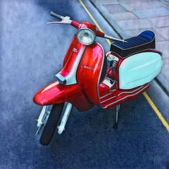 Lambretta scooter (Leo Reynolds) Tags: xleol30x scooter lambretta vinci