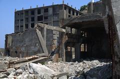 Building, Gunkanjima Hashima
