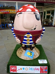 Ahoy There Scrumpty!  On the Scrumpty trail in Gloucester. (n-glos1) Tags: sculpture art pirate