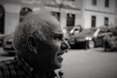 (woodzipictures) Tags: street portrait man men monochrome photography mono candid straat