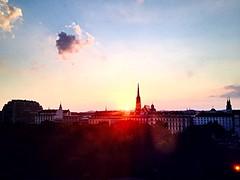#Sonnenuntergang #Vienna (RenateEurope) Tags: vienna sonnenuntergang top20flickrskylines